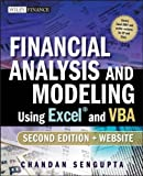 img - for Financial Analysis and Modeling Using Excel and VBA (Wiley Finance) 2nd (second) Edition by Sengupta, Chandan [2009] book / textbook / text book
