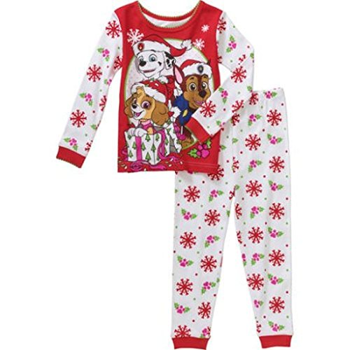 Paw Patrol Girls Toddler Holiday Pajamas
