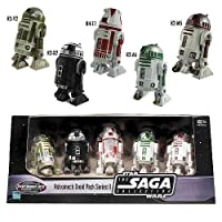 EE Exclusive Star Wars Astromech Droids Pack of 5 - Saga Collection Series 2 from Hasbro