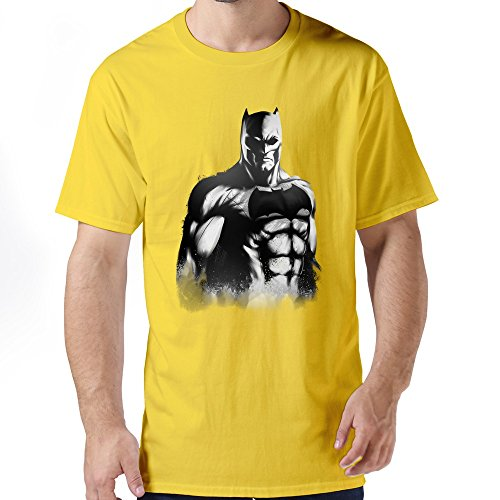 [ZHUYOUDAO Men's The Avengers Bruce Wayne Batman Costume 100% Cotton T-Shirt] (Hulkbuster Costume For Kids)