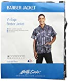 Betty Dain Betty Dain Vintage Barber Jacket, Small, Black, 5.12 Ounce
