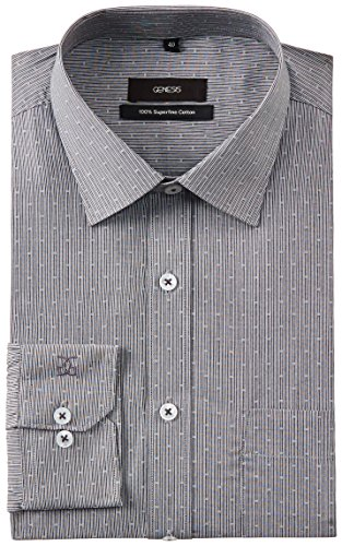 Genesis Genesis Men's Formal Shirt (Multicolor)