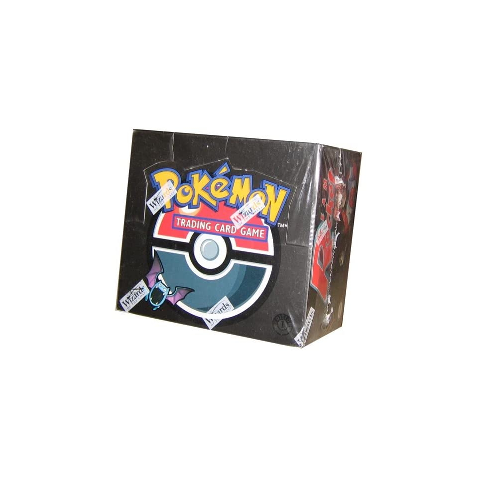 Pokemon Trading Card Game Team Rocket Booster Box
