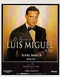 Luis Miguel original clipping magazine photo 1pg 8x10 #Q9060