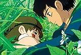 150ピース ジグソーパズル スタジオジブリ シネマart 2ショットシリーズ2 再生の朝 (もののけ姫)  ミニパズル(10x14.7cm)