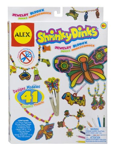 ALEX® Toys – Craft Shrinky Dinks Jewelry 397J