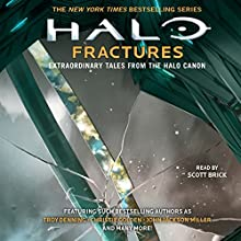 HALO: Fractures - Extraordinary Tales from the Halo Canon | Livre audio Auteur(s) : Tobias Buckell, Troy Denning, Matt Forbeck, Kelly Gay, Christie Golden, Kevin Grace, Morgan Lockhart Narrateur(s) : Scott Brick