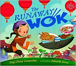 http://www.amazon.com/The-Runaway-Wok-Chinese-Year/dp/0525420681/ref=sr_1_1?ie=UTF8&qid=1391204212&sr=8-1&keywords=Runaway+Wok