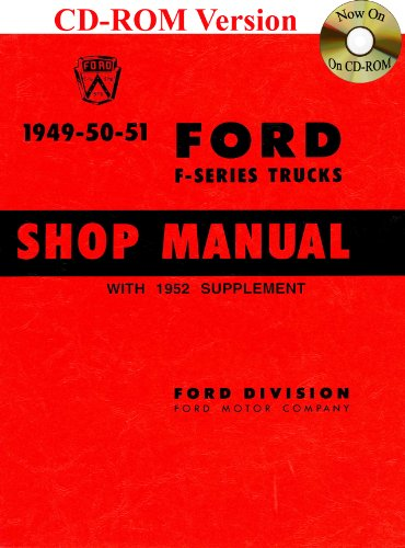 1949-52 Ford Truck Shop Manual