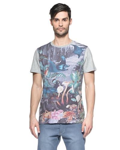 Diesel Camiseta Tmorf Gris