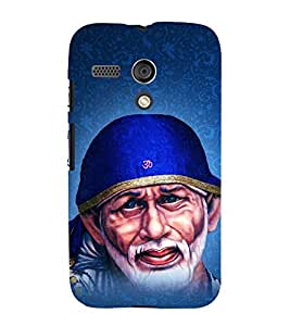 Om Sri Sai Adrishyaaya 3D Hard Polycarbonate Designer Back Case Cover for Motorola Moto G X1032 :: Motorola Moto G (1st Gen)