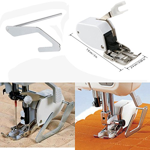 Sewing Machine Screw-on Even Feed Walking Foot w/ Quilt Guide for Brother Singer (Sewing Machine Ce1100prw compare prices)