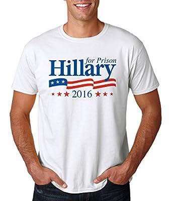 Hillary for Prison 2016 Funny Democrat Campaign Shirt