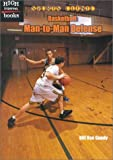 img - for Basketball: Man-to-Man Defense (Sports Clinic) book / textbook / text book