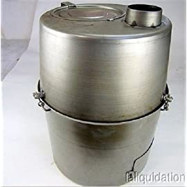 The newer style you attach a tank off to the side of it--the older ones you just pour fuel into the bottom of the tub. & H-45 military tent heater review - Pennocku0027s Fiero Forum
