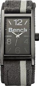 Bench - BC0408GNGY - Montre Homme - Quartz Analogique - Bracelet Gris