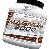 Get Magnum 8000 Mass Weight Builder - 1.6kg (chocolate) - complex protein + creatine + mct oil Price-image