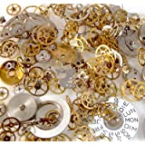 Bead Fanatic 10g Assorted Watch Parts for Steampunk Jewellery Making 2mm - 30mm