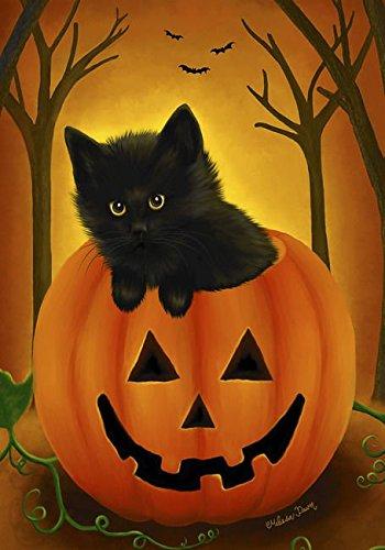Halloween Flag Fall Pumpkin