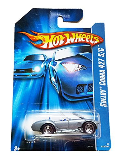 #2006-212 Shelby Cobra 427 S/c Collectible Collector Car Mattel Hot Wheels - 1