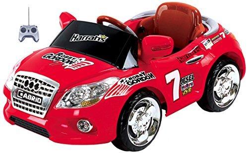 Mario Schiano Auto Elettrica Cabrio Rossa bambino 6V con radiocomando