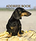 Dachshunds Address Book
