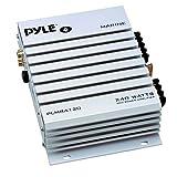 PYLE PLMRA120 240-Watt 2-Channel Waterproof Marine/Car Amplifier