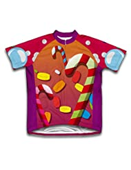 Candy Paradise Short Sleeve Cycling Jersey for Women
