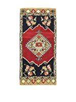 Eden Carpets Alfombra Yastik Rojo/Multicolor 93 x 46 cm