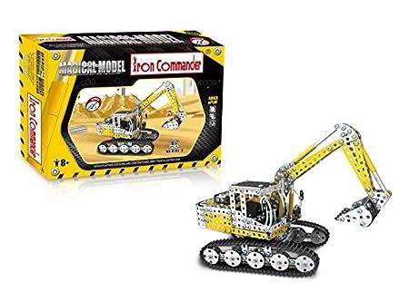 Kit maquette en métal Grande pelleteuse - Iron Commander