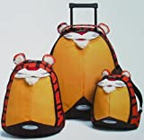 Samsonite Sammies Tiger 3 Piece Upright Roller and Backpack