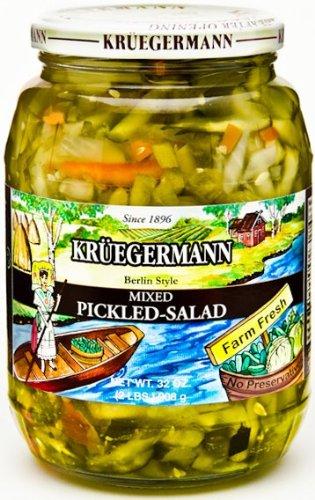 Mixed Pickled Salad 32 fl oz (Kruegermann Sauerkraut compare prices)