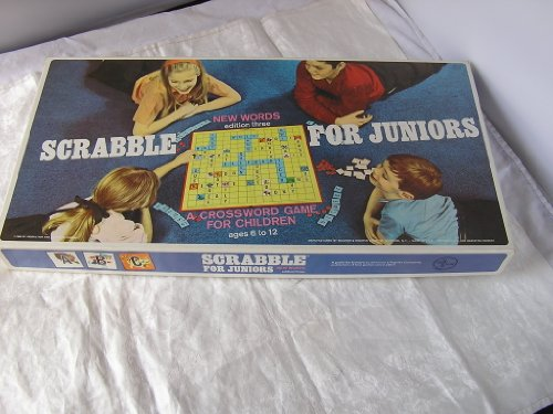Vintage 1968 Scrabble for Juniors Board Game - 1