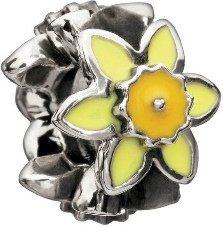 Authentic Chamilia Daffodil Bead 2020-0650