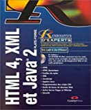 echange, troc Eric Ladd, Jim O'Donnell - HTML 4, XML et Java 2 (CD rom)