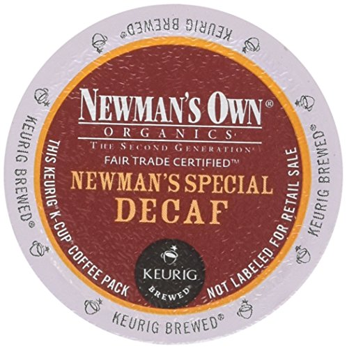 Newman's Own Organics Newman's Special Decaf K-Cup Coffee, 48 Count (Keurig Coffee Newmans compare prices)
