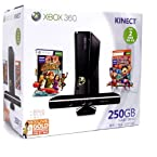 Xbox 360 Gaming Console 250GB Elite with Kinect Bundle