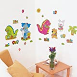 Dinosaur - Wall Decals Stickers Appliques Home Decor