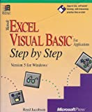 img - for Microsoft Excel Visual Basic for Applications: Step by Step : Version 5 for Windows/Book and Disk book / textbook / text book