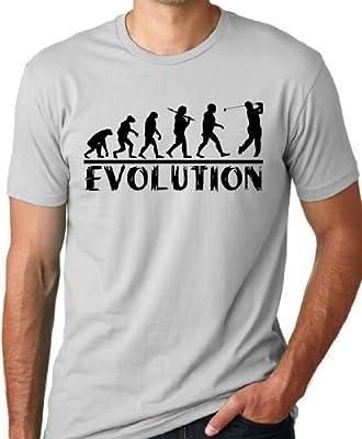 Golf Evolution Funny T-shirt Golfer Humor Tee