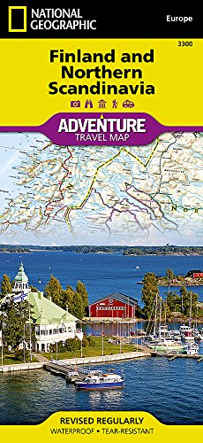 Finland and Northern Scandinavia : 1/975 000 (Adventure map)