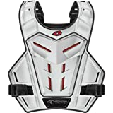 EVS Revolution 4 Phantom Adult Roost Guard Motocross Motorcycle Body Armor - White / One Size