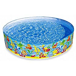 Intex Inflatable Snapset Pool, Multi Color (6-feet)
