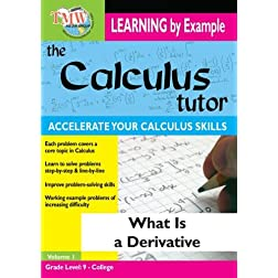 Calculus Tutor: What Is A Derivative?