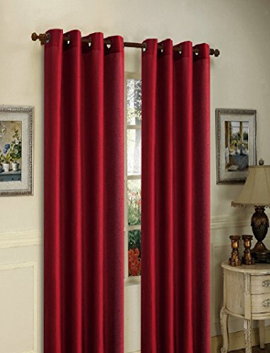 Gorgeous Home Different Solid Colors Sizes 72 1 Panel Solid Thermal Foam Lined Blackout