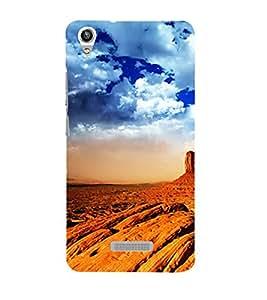 Vizagbeats rock mountains Back Case Cover for Lava Pixel V1