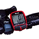 MUCH Cyclists Wireless Backlight Bicycle Computer Cycling Bike Odometer Speedometer Multi Function MUCH