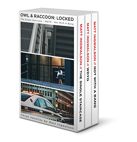 This 3-in-1 BOXED SET combines a police thriller atmosphere with locked room puzzles designed to delight mystery buffs!  Owl & Raccoon: Locked by Matt Ingwalson
