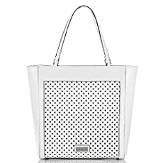 Harrison Tote<br>White Perf Fashion