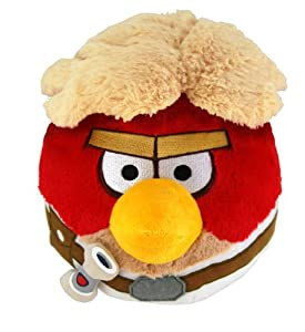 "Angry Birds Star Wars 5"" Plush - Luke from Angry Birds"